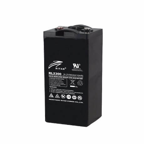 AGM 2V Series VRLA Batteries from 200Ah to 3000Ah