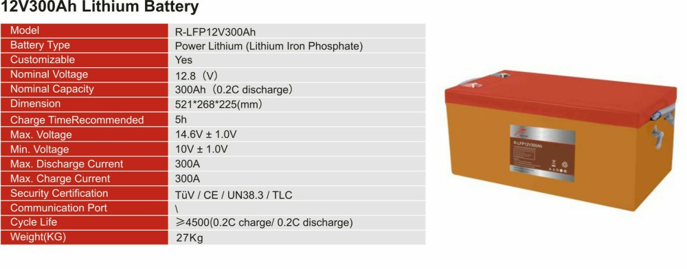 12V Lithium  Iron Phosphate Battery(图7)