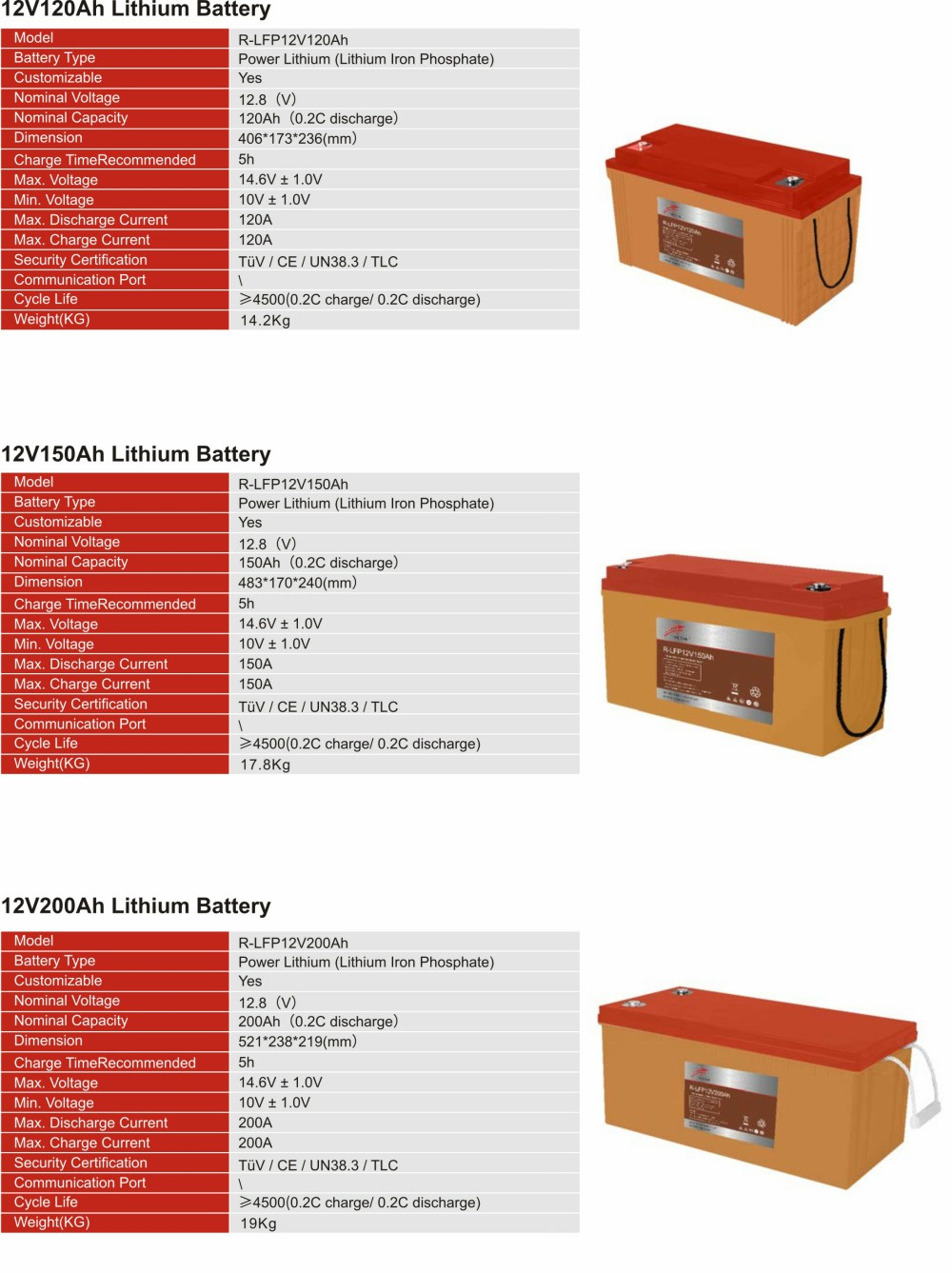 12V Lithium  Iron Phosphate Battery(图6)